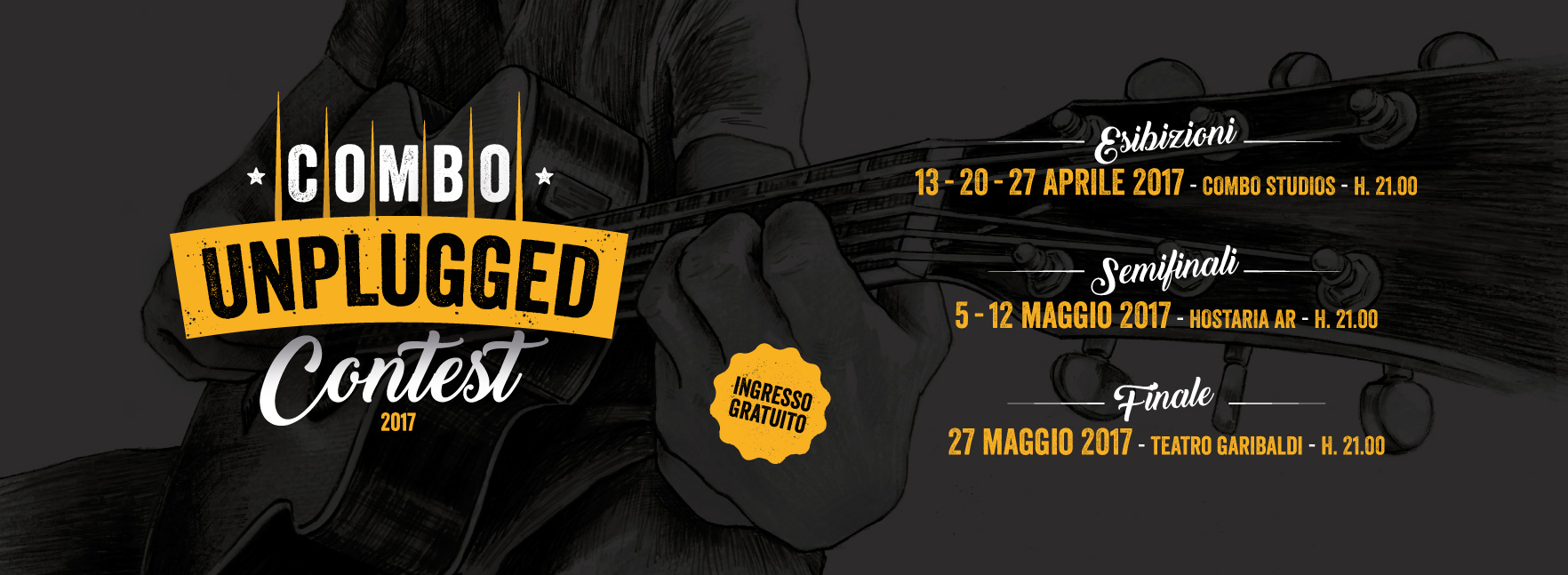 Combo Unplugged Contest 2017 – Calendario esibizioni live