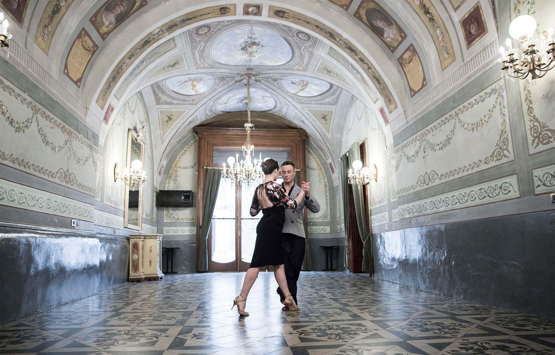 Tango – Raffaele Ferrante y Maria Simona Gentile bailan Tigre Viejo
